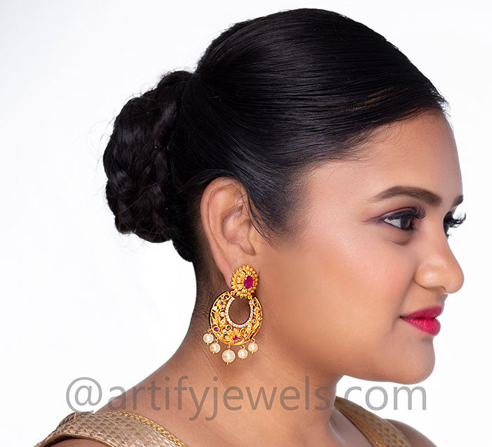Grishma Earrings - Artify Jewelry