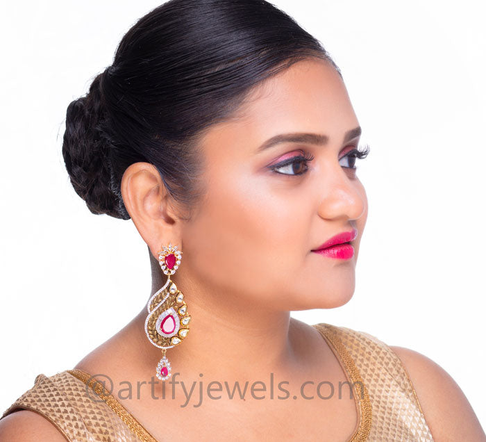 Pushpa Earrings - Artify Jewelry