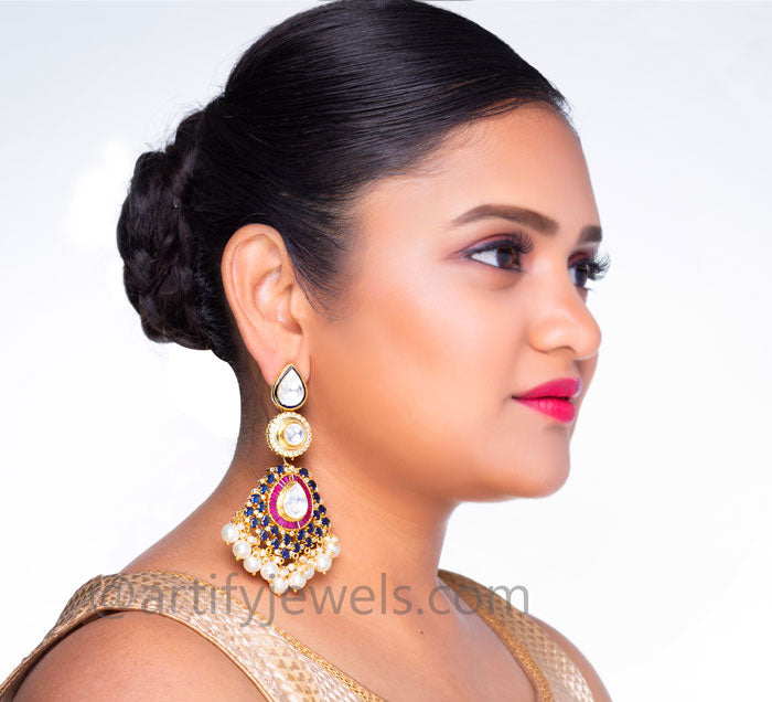 Prathiba Earrings - Artify Jewelry