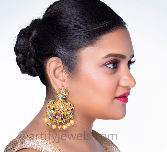 Rohini Earrings - Artify Jewelry