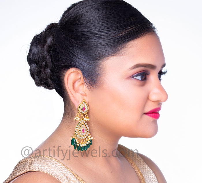 Rajini Earrings - Artify Jewelry