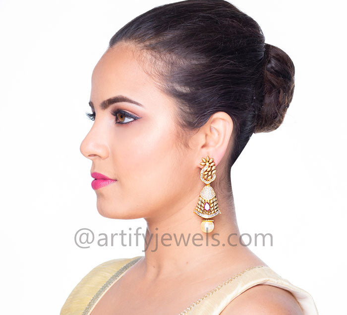 Dviya Earrings - Artify Jewelry