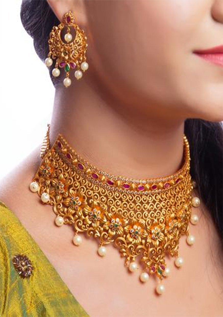 Geetha Necklace - Artify Jewelry