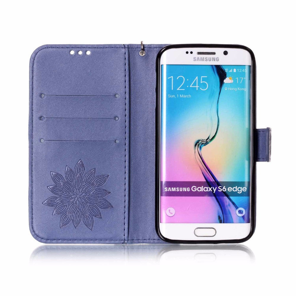 Multi-function Wallet Leather Flip Case For Samsung Galaxy S7 S6 edge S5 S4