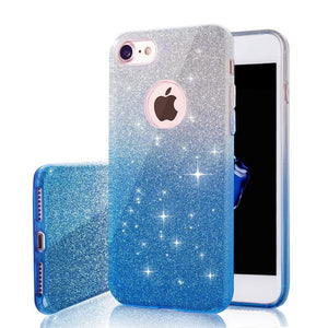 Gradient Glitter Cover for iPhones