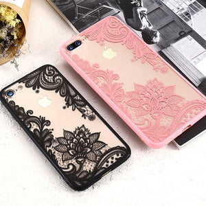 3D Lace Flower Cover For iPhone