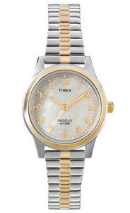 Timex Womens Two Tone Expansion Band Watch