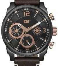Caterpillar Mossville Multi Mens Leather Strap Watch