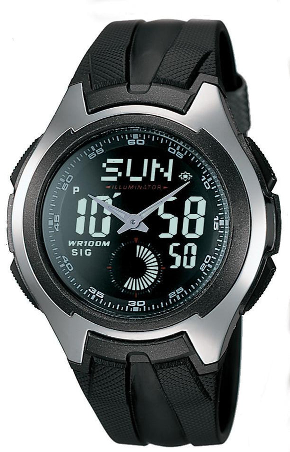 Casio Men's Black Ana-Digi Sport Watch