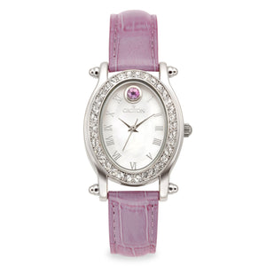 Croton Womens Stainless steel June Birthstone Watch