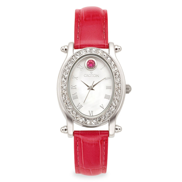 Croton Womens Stainless steel JulyyBirthstone Watch