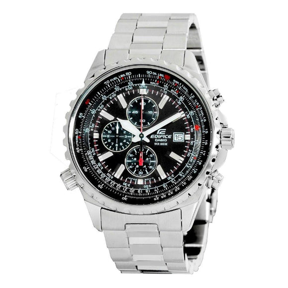 Casio Men's EF527D-1AV Edifice Stainless Steel Multi-Function Watch