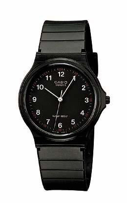 Casio Mens 3-hand Analog Water Resistant Watch