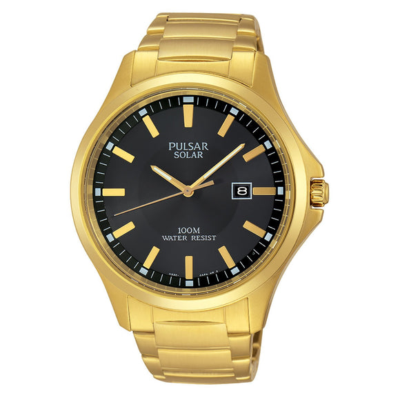 Pulsar Mens Solar Dress Watch