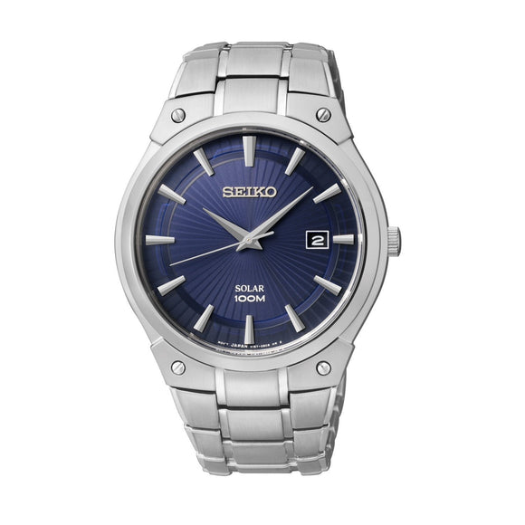 Seiko Mens Dress Solar Analog Dress Watch