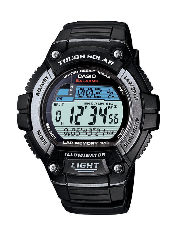 Casio Mens Classic BlackTough Solar Digital Watch