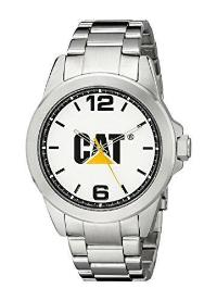 CAT WATCHES Men's YS14011232 Icon Analog Display Quartz Silver Watch