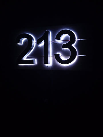 LED numbers