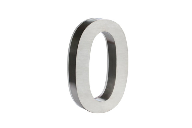 Stainless Steel Numbers - White LED