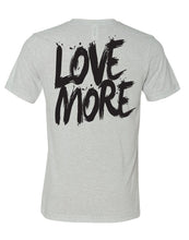 "Black Label ""Love More"" T-Shirt White Fleck"