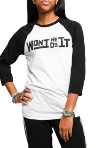 WHD-IT Long Sleeve Jersey Baseball Tee