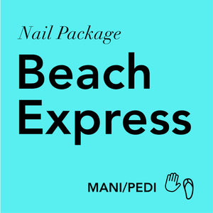 Beach Express: Mani/Pedi