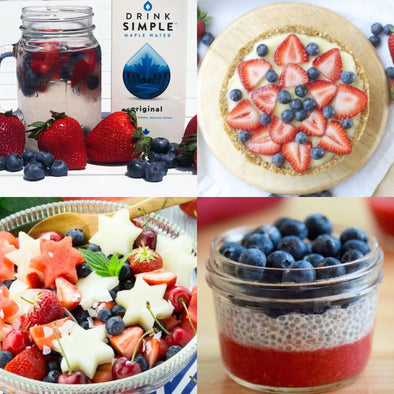 8 Healthy Red, White & Blue Recipes for the 4th of July