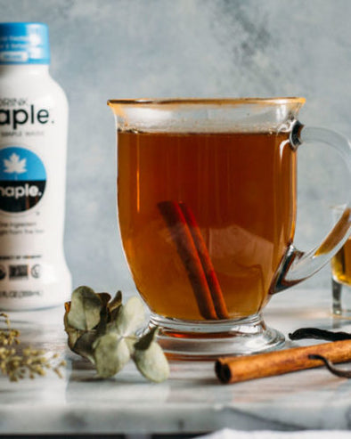 Spiked Cinnamon Maple Water Tea