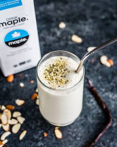 Vanilla Bean Maple Water Smoothie