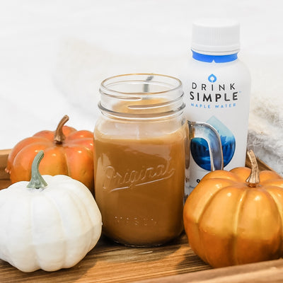 Healthy & Hydrating Pumpkin Spice Latte