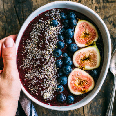Summer's Harvest Maple Fig Smoothie Bowl