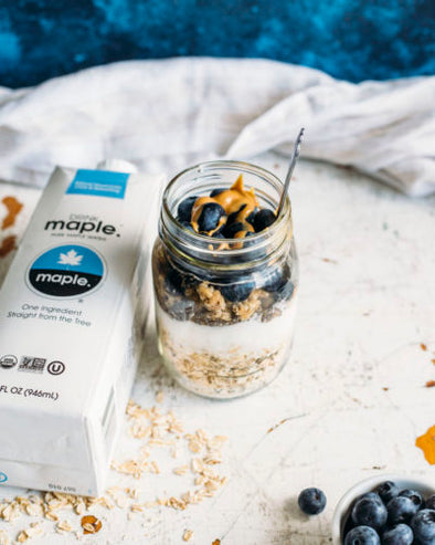 Maple Water Overnight Oats
