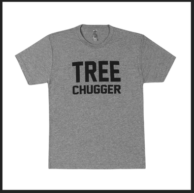 "Short Sleeve ""Tree Chugger"" Tee Shirt"