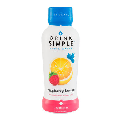 12 oz. Drink Simple Raspberry Lemon Maple Water - Pack of 12