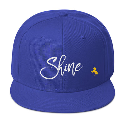 """Shine"" Snapback Hat (More Options)"