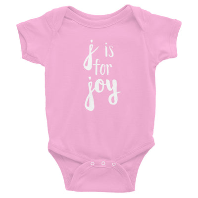 """J is for Joy"" Baby Onesie (More Options)"