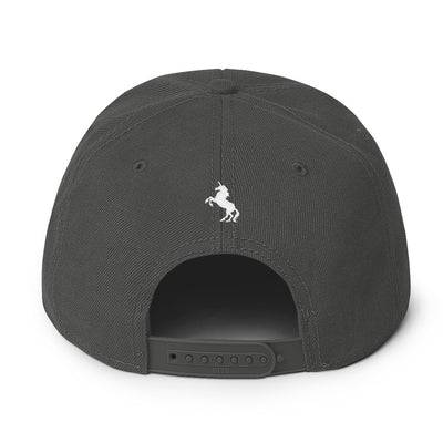 """Majestic"" Snapback Solid Color Hat (More Options)"