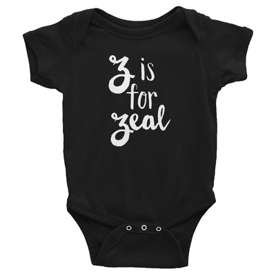 """Z is for Zeal"" Baby Onesie (More Options)"