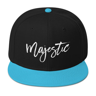 """Majestic"" Snapback Two-Color Hat (More Options)"