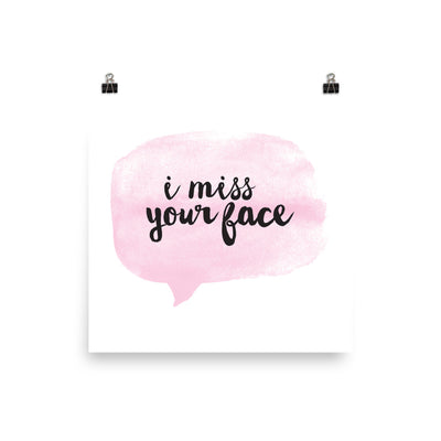 """Miss Yo Face"" Poster (More Options)"