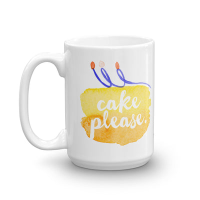 """Cake Please."" Mug (More Options)"