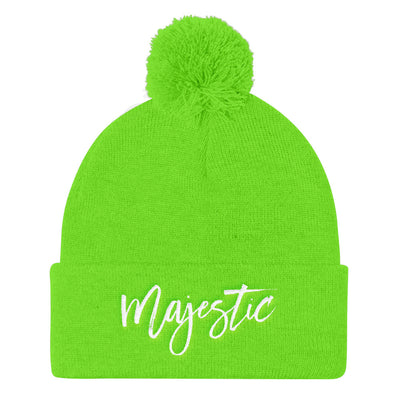 """Majestic"" Pom Pom Knit Cap (More Options)"