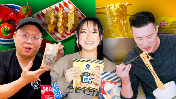 Asians Rank Top 10 Favorite HMART Snacks