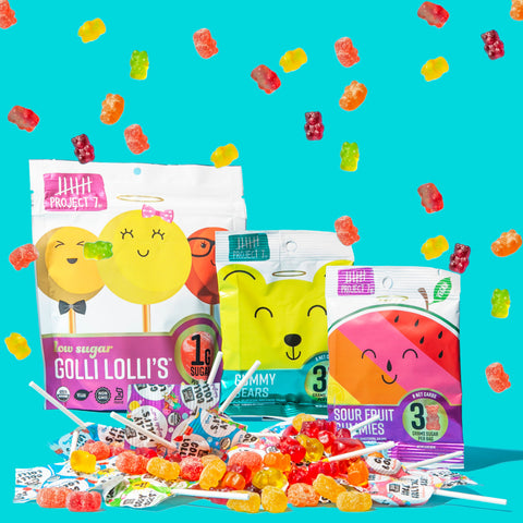 Project 7 Low Sugar Candy | growthbuster