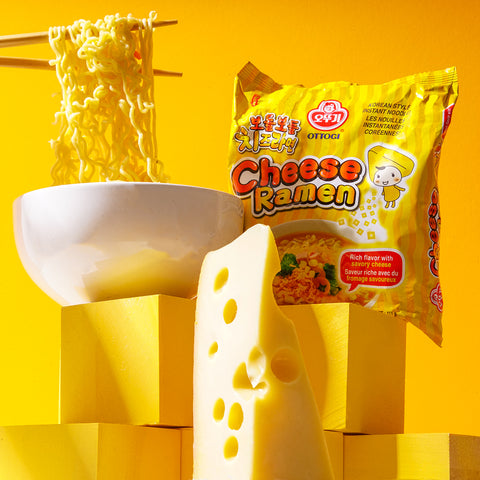 Ottogi Cheese Ramen Noodles Korean Instant
