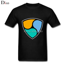 Cryptocurrency Xem Nem T Shirt Men XXXL Custom Short Sleeve 3XL Crypto Currency Tshirts - Cryptocurrency Swag