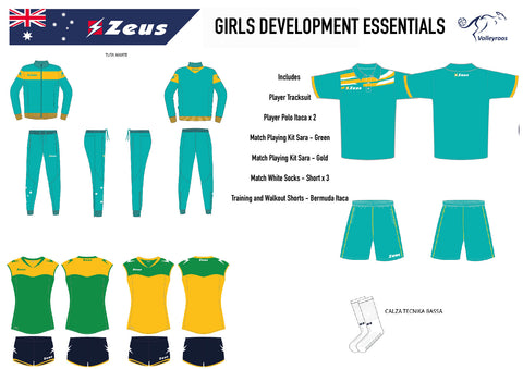 Junior Womens Development Essentials Package