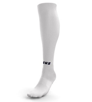 Calza Technica Alta - Playing White Long Socks