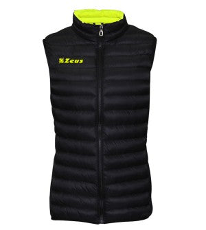 Corporate - Winter Vest - Black with Yellow Trim