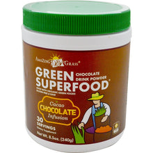 Amazing Grass - Green Superfood (Chocolate Drink Powder) (240 g) 超級蔬果鹼性綠粉